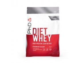 PHD Nutrition Limited Diet Whey 2kg jahoda  + šťavnatá tyčinka ZDARMA