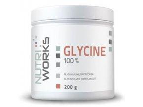 NutriWorks Glycine 200g  + šťavnatá tyčinka ZDARMA