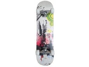 ACRA Skateboard závodní se zpevněným podvozkem  + šťavnatá tyčinka ZDARMA