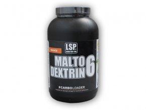 LSP Nutrition Maltodextrin 6 orange 2000g  + šťavnatá tyčinka ZDARMA