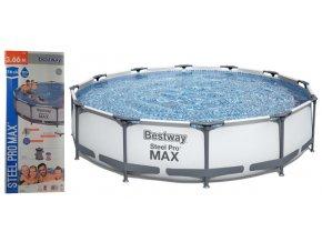 BESTWAY 56416 Bazén Family 366x76 cm + příslušenství  + šťavnatá tyčinka ZDARMA