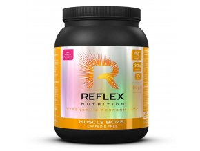 Reflex Nutrition Muscle Bomb Caffeine Free 600g  + šťavnatá tyčinka ZDARMA