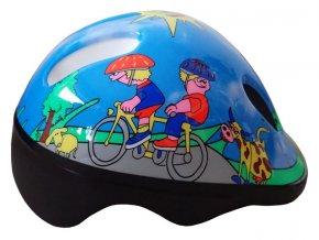ACRA CSH06 Dětská cyklo helma, vel. XS
