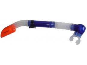 ACRA Silikonový šnorchl s vrchní krytkou a výfukem - P1695