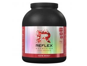 PROTEIN Reflex Nutrition 100% Whey Protein 2000g  + šťavnatá tyčinka ZDARMA