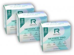 Reflex Nutrition 2x Nexgen Pro 90 kapslí + 1x ZDARMA  + šťavnatá tyčinka ZDARMA