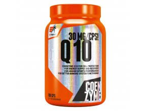 Extrifit Coenzyme Q10 30mg 100 kapslí  + šťavnatá tyčinka ZDARMA