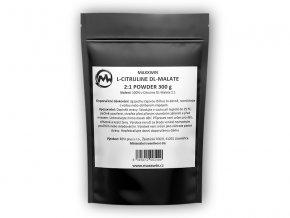 Maxxwin L-citruline DL-Malate 300g  + šťavnatá tyčinka ZDARMA