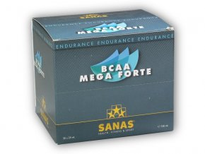 Sanas BCAA mega forte 30 ampulí á 22ml  + šťavnatá tyčinka ZDARMA