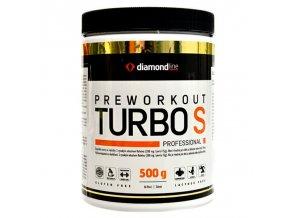 Hi Tec Nutrition Diamond line Preworkout Turbo S 500g  + šťavnatá tyčinka ZDARMA