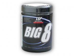 LSP Nutrition BIG 8 essential amino 500g  + šťavnatá tyčinka ZDARMA
