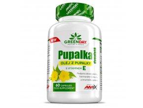 Amix GreenDay Pupalka Dvouletá + Vitamin E 90 cps