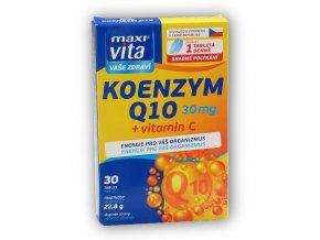 Maxivita Maxivita Koenzym Q10 30mg + Vitamin C 30 tab