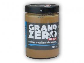 BigBoy Grand zero arašídový krém mléčnou čoko 550g