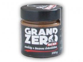BigBoy Grand zero arašídový krém tmavá čokoláda 250g