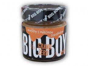BigBoy Grand zero arašídový krém mléčnou čoko 250g