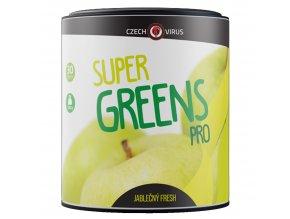 Czech Virus Super Greens PRO 330g  + šťavnatá tyčinka ZDARMA