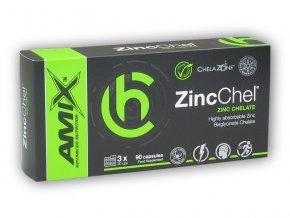 Amix ChelaZone ZincChel 90 Vcps - Zinc Chelate  + šťavnatá tyčinka ZDARMA