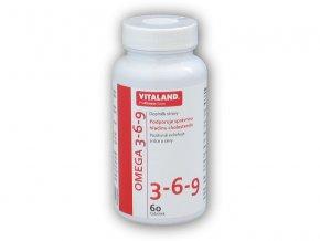 Vitaland Vitaland Omega 3-6-9 1200mg 60 kapslí