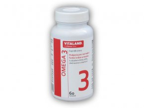 Vitaland Vitaland Omega 3 60 kapslí