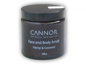 Cannor Peeling na obličej a tělo 100g
