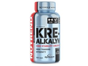 Nutrend Kre-Alkalyn 120 kapslí  + šťavnatá tyčinka ZDARMA