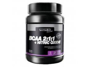 PROM-IN BCAA 2:1:1 + Nitric Oxide 500 kapslí  + šťavnatá tyčinka ZDARMA