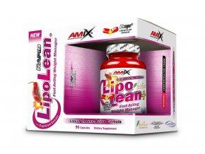 Amix LipoLean 90 tekutých kapslí  + šťavnatá tyčinka ZDARMA