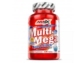 Amix Multi Mega Sport Stack 120 tablet  + šťavnatá tyčinka ZDARMA