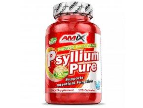 Amix Psyllium Pure 120 kapslí  + šťavnatá tyčinka ZDARMA
