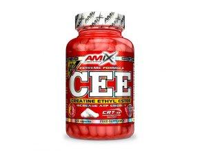 Amix CEE Creatine Ethyl Ester 125 kapslí  + šťavnatá tyčinka ZDARMA