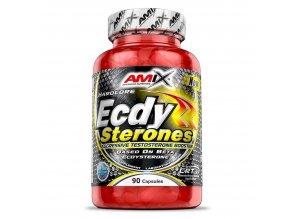 Amix Ecdy Sterones 90 kapslí  + šťavnatá tyčinka ZDARMA