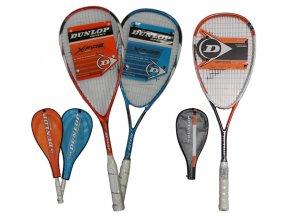 Dunlop Raketa squashová kompozitová G2451  + šťavnatá tyčinka ZDARMA