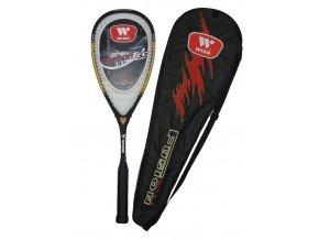 Wish Squashová pálka Carbontec G2451/1  + šťavnatá tyčinka ZDARMA
