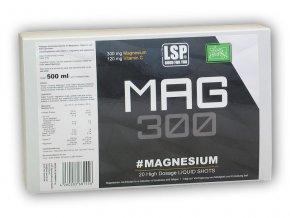LSP Nutrition Magnesium liquid 20 ampulí á 25ml  + šťavnatá tyčinka ZDARMA
