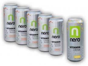 NeroDrinks 5x Nero Active ZERO 330ml + 1x 500ml ZDARMA