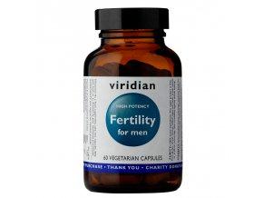 Viridian Fertility for Men 60 kapslí  + šťavnatá tyčinka ZDARMA