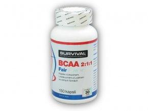 Survival BCAA 2:1:1 Fair Power 150 kapslí