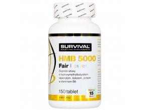Survival HMB 5000 Fair Power 150 tablet  + šťavnatá tyčinka ZDARMA