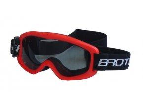 BROTHER B132-CRV lyžařské brýle DĚTSKÉ - červené