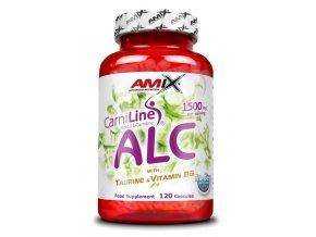 Amix ALC with Taurine + Vitamin B6 120 kapslí  + šťavnatá tyčinka ZDARMA
