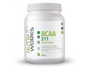 NutriWorks BCAA 2:1:1 500g  + šťavnatá tyčinka ZDARMA