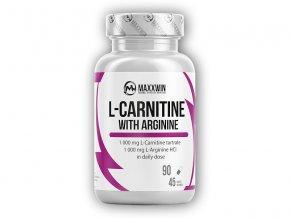 Maxxwin L-Carnitine + Arginine 90 kapslí