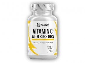 Maxxwin Vitamin C 1000 with rose hips 120 kapslí