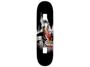 Skateboard UTOP SKULL RUS MAPLE 31X8 SPARTAN  + šťavnatá tyčinka ZDARMA