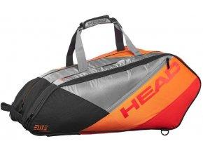 Tenis taška na rakety HEAD ELITE 12R MONSTERCOMBI - ANOR  + šťavnatá tyčinka ZDARMA