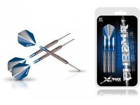 Šipky XQ MAX Steel Chroma - 21g  + šťavnatá tyčinka ZDARMA