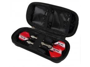 XQMax Darts Pouzdro na šipky malé - červené
