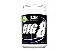 LSP Nutrition BIG 8 essential amino 250g  + šťavnatá tyčinka ZDARMA