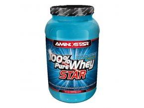 PROTEIN Aminostar 100% Pure Whey Star 2000g  + šťavnatá tyčinka ZDARMA